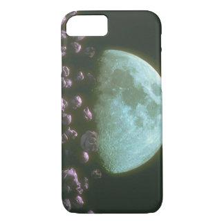 Rocks around Moon. (rocks_Space Scenes iPhone 7 Case