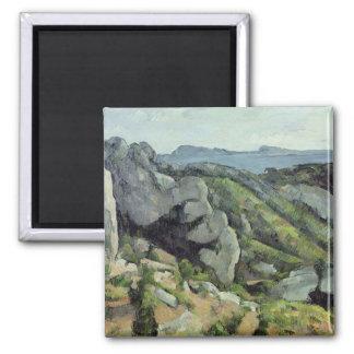 Rocks at L'Estaque, 1879-82 Magnet