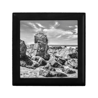 Rocks at Shore in Praia Malhada Jericoacoara Brazi Keepsake Box