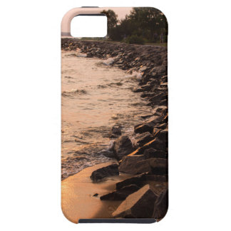 Rocks at Waterfront iPhone 5 Case