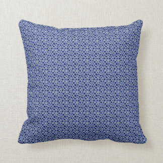 Rocks Blues Neat Pattern Pillow