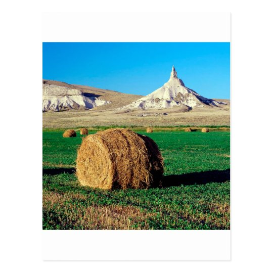Rocks Chimney Nebraska Postcard