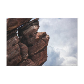 "Rocks & Clouds - ""Red Rocks"" Colorado Canvas Print"
