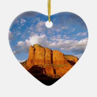 Rocks Courthouse Sedona Arizona Ceramic Ornament