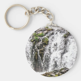 rocks fall over the falls keychain