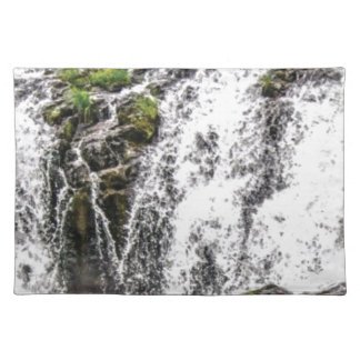rocks fall over the falls placemat