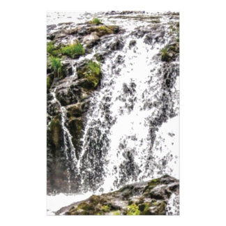 rocks fall over the falls stationery