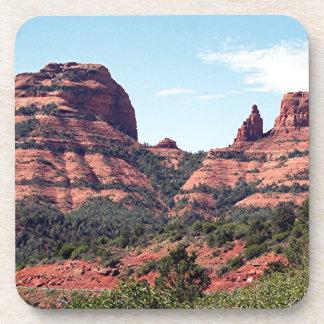 Rocks near Sedona, Arizona Drink Coasters