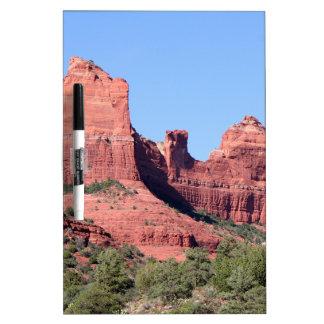 Rocks near Sedona, Arizona Dry-Erase Whiteboards