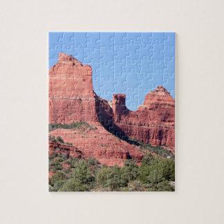 Rocks near Sedona, Arizona Jigsaw Puzzle