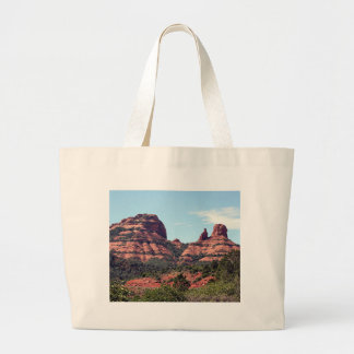 Rocks near Sedona, Arizona Large Tote Bag