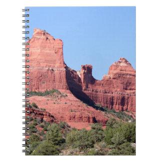 Rocks near Sedona, Arizona Notebooks