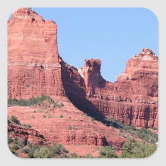Rocks near Sedona, Arizona Square Sticker