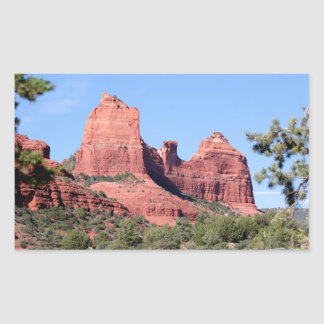 Rocks near Sedona, Arizona Sticker