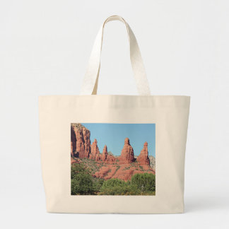 Rocks near Sedona, Arizona,USA 2 Large Tote Bag