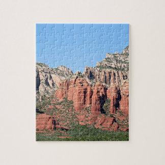 Rocks near Sedona, Arizona,USA 3 Puzzle