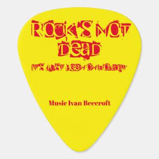 Rocks not dead guitar pick