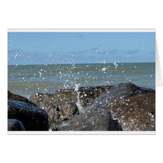 ROCKS ON BEACH QUEENSLAND AUSTRALIA CARD
