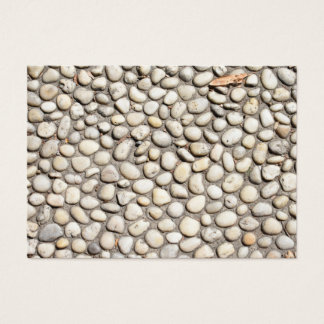 Rocks Stones Cobblestone Pathway Nature Photograph Business Card