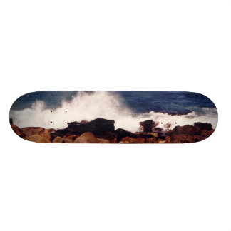 Rocks Surf Photo Skateboard Deck