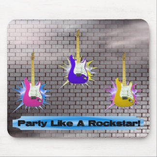 Rockstar Brick Wall Mouse Pad
