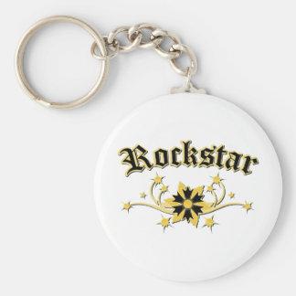 Rockstar Fashion Design Keychain