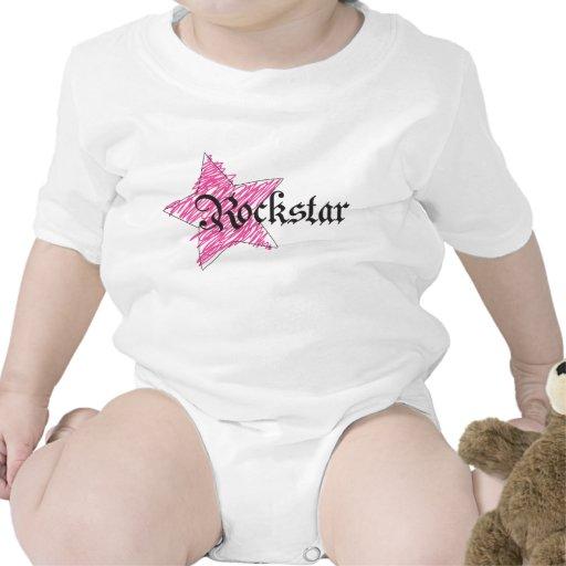 Rockstar girl bodysuit