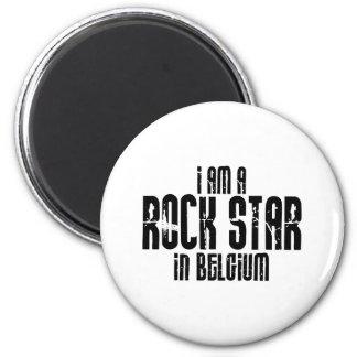 Rockstar In Belgium Magnet
