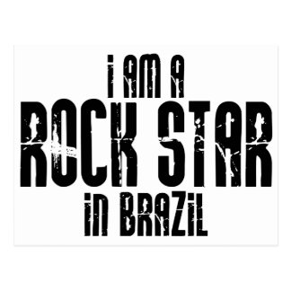 Rockstar In Brazil Postcard