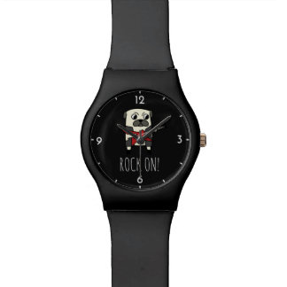 Rockstar Pug Watch