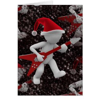 rockstar santa card