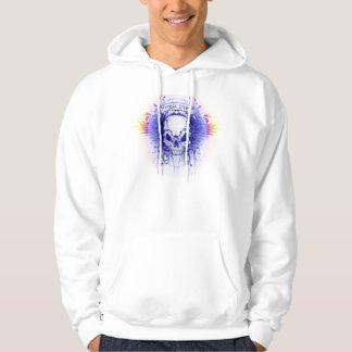 Rockstar Skull - Basic Hooded Sweatshirt