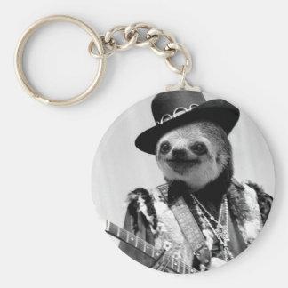 Rockstar Sloth #2 Keychain