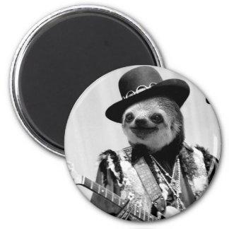 Rockstar Sloth #2 Magnet
