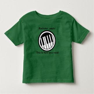Rockstar, yeah! toddler t-shirt