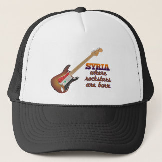 Rockstars are born in Syria Trucker Hat