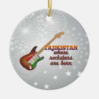 Rockstars are born in Tajikistan Ornament