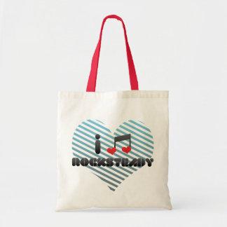 Rocksteady fan tote bag