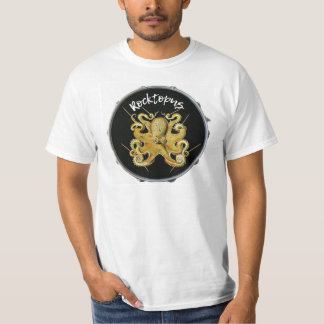 Rocktopus Drummer Percussion T-shirt