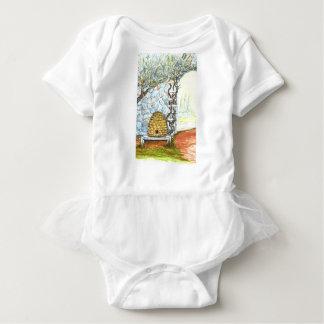 rockwall crop baby bodysuit