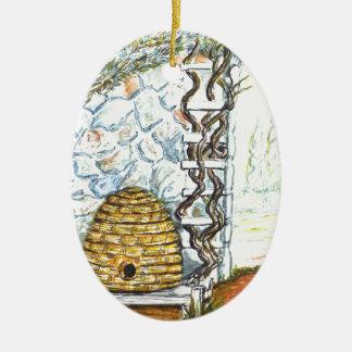 rockwall crop ceramic ornament