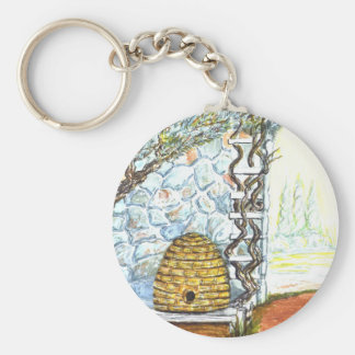 rockwall crop keychain