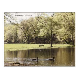 Rockwell Park, Bristol CT - Postcard
