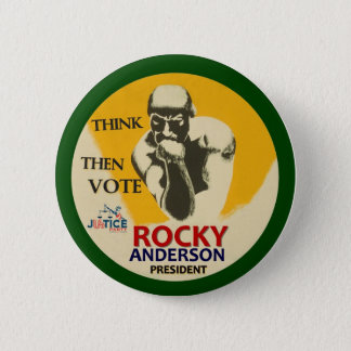 Rocky Anderson for President 2012 2 Inch Round Button
