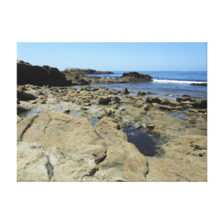 Rocky beach at Laguna Beach - California coast Canvas Print