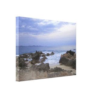 Rocky Beach Canvas