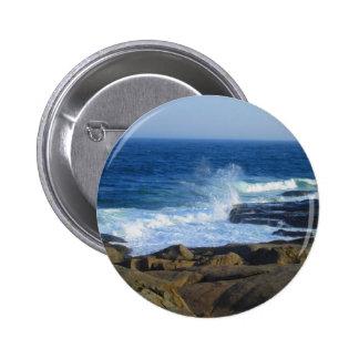 Rocky Cape Neddick Coast 2 Inch Round Button
