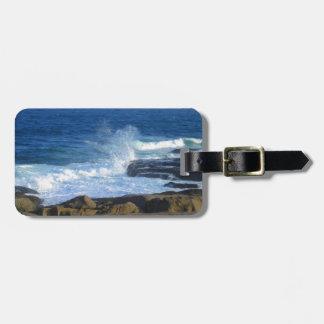 Rocky Cape Neddick Coast Luggage Tag