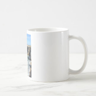 Rocky coast at Quiberon peninsula in France Coffee Mug