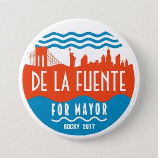 Rocky De La Fuente for NYC Mayor 2017 3 Inch Round Button